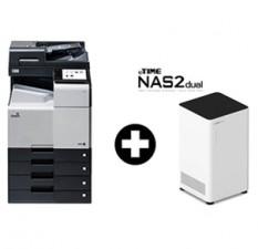 [렌탈패키지] 신도리코 디지털복합기 D450 + 나스(NAS) 네트워크 2TB / 4TB